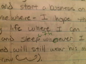 The Letter I Had Written to Myself in High School