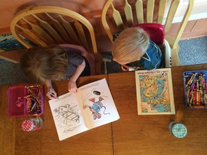 children coloring michigan coloring books