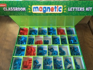 Lakeshore Learning Magnetic Letters
