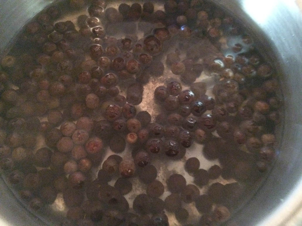 Boiling Allspice for a Teething Necklace