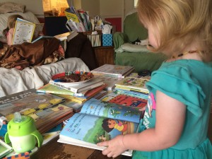 Ophelia Loves Reading Dora Books