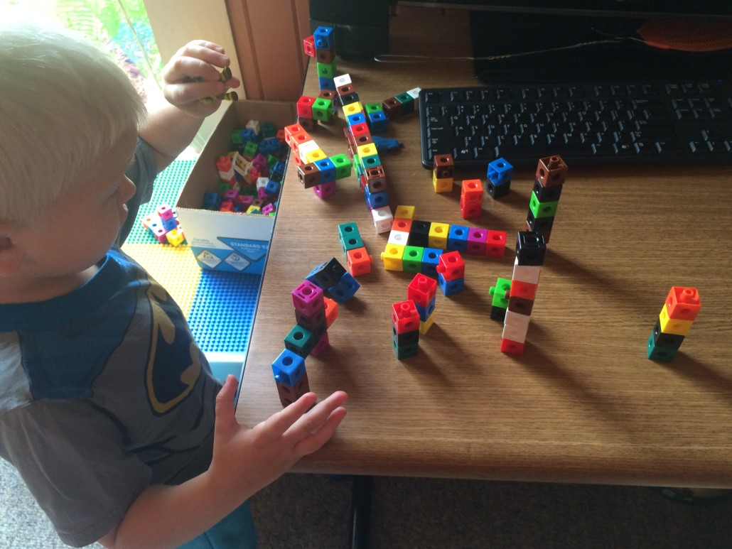 Using Unifix Cubes During Imaginative Play
