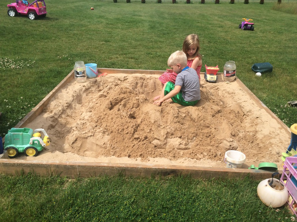 Playing in our Sandbox One Year Later