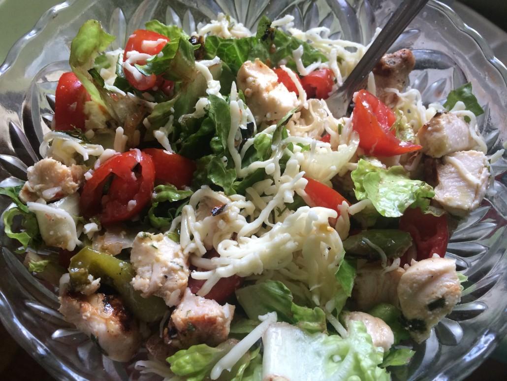 kebab salad