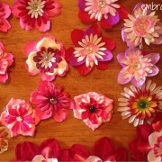 Embracing Motherhood How to Make Flower Hair Clips