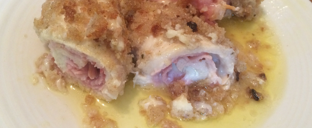 Embracing Motherhood chicken cordon bleu