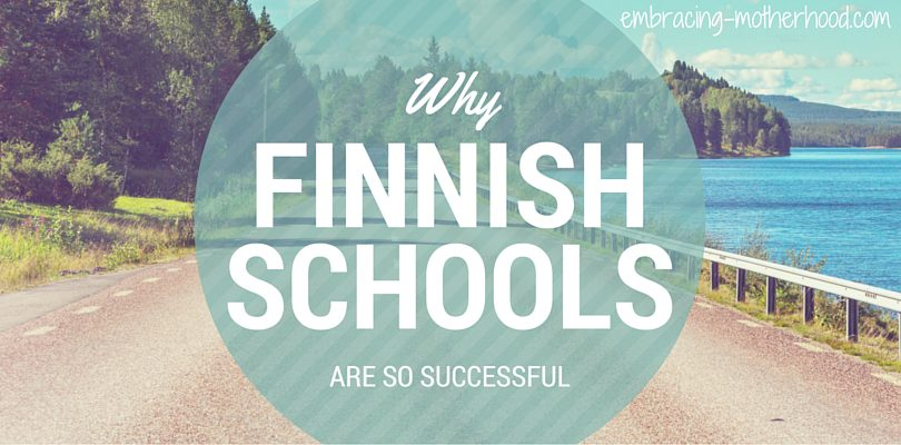 15 Reasons Why Finland's Schools Are Performing Better Than Schools in the United States at Embracing Motherhood