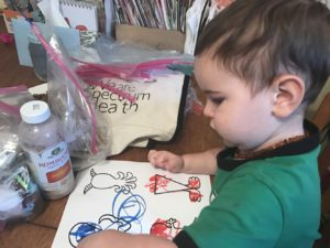 Julian (2) Coloring Some Monsters