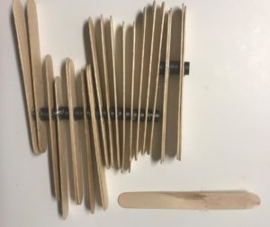 Jumbo Popsicle Sticks with Magnets on the Back