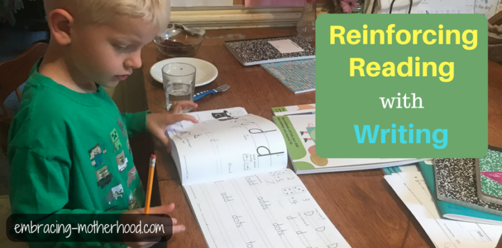 Reinforcing Reading With Writing (Part 8 in a Teach Your Child to Read Series)