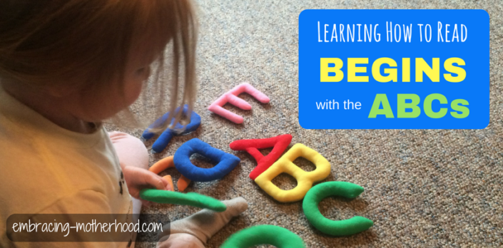 Learning the Alphabet is the Foundation of Reading (Part 2 of a Teach Your Child to Read Series)