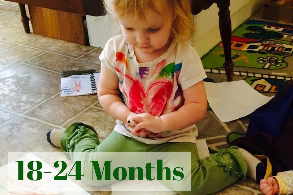 19 Month Ophelia Loves to Learn