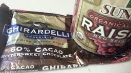 Chocolate Chips Versus Raisins