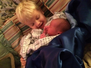 Elliot Holding Julian