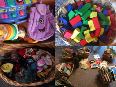 Organized Toys and Books