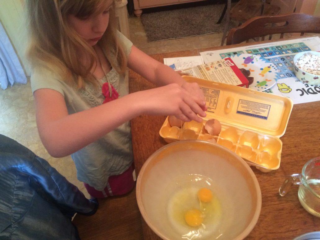 Ruby Cracking Eggs