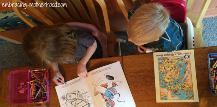 Michigan Coloring Books are Fun for Children of All Ages