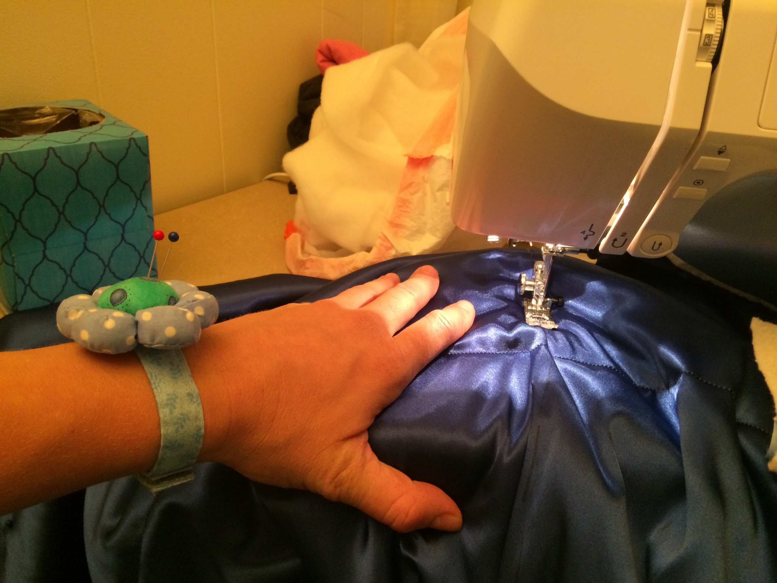 Sewing the Lines