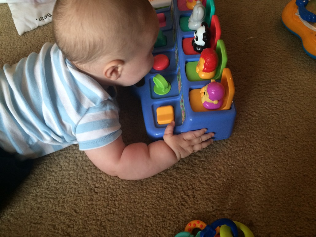 Julian Doing Tummy Time