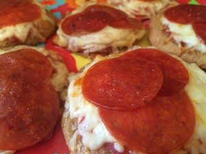 Pizza Toast with Pepperoni