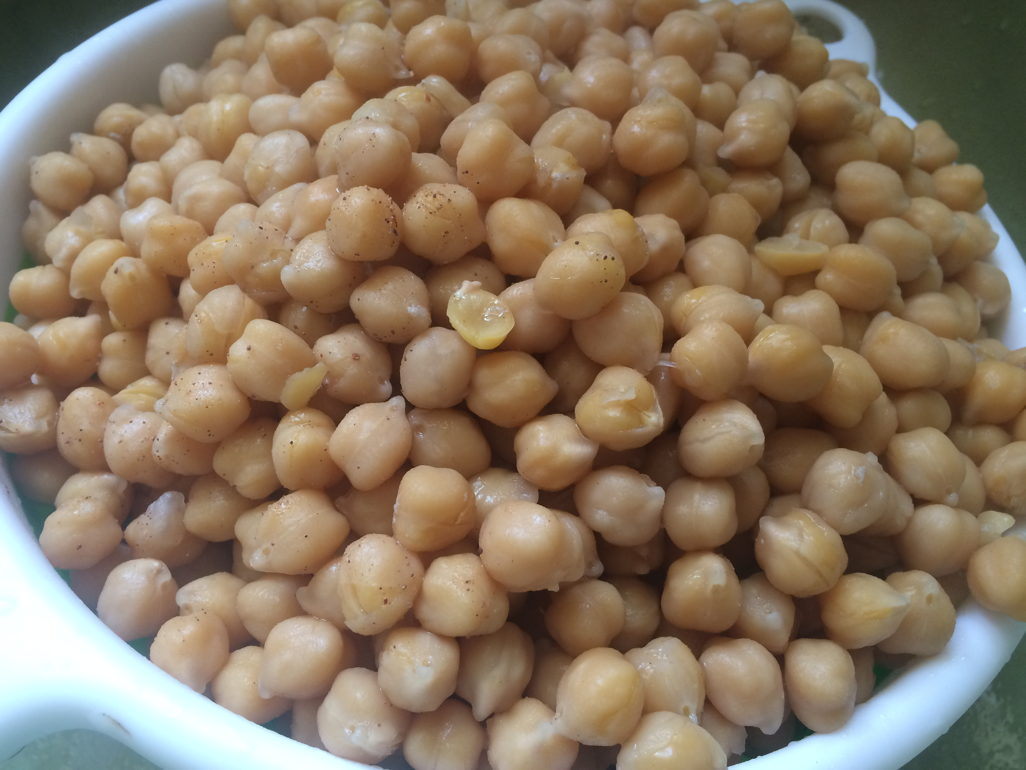 cooked garbanzo beans