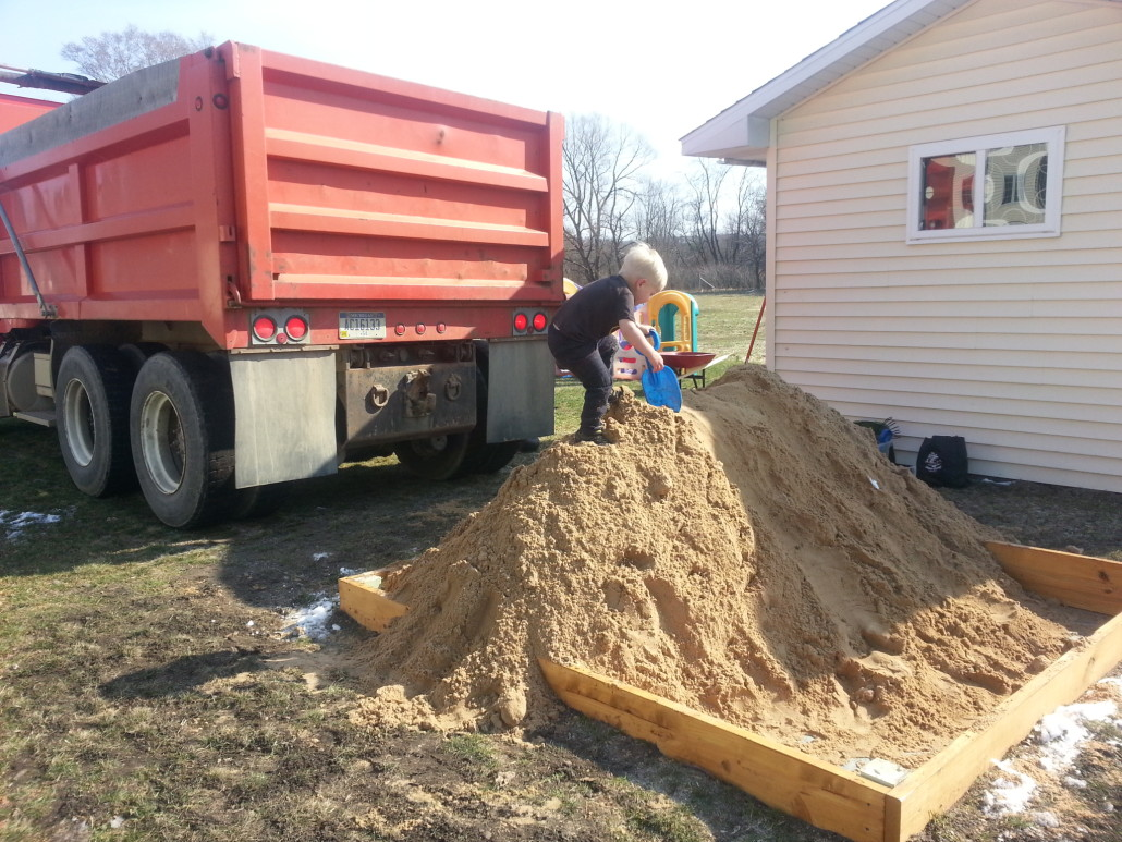sand delivery