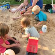 Embracing Motherhood How to Build a Sandbox