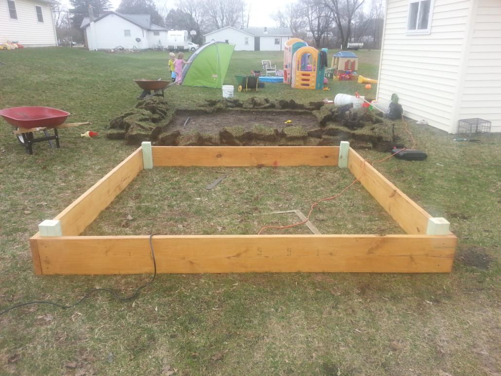 sandbox frame