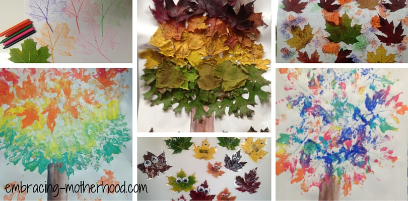 Embracing Motherhood Fall Art Projects