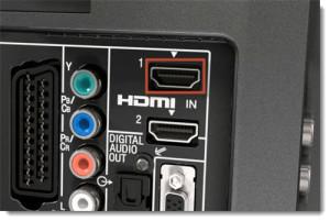 HDMI Port on TV