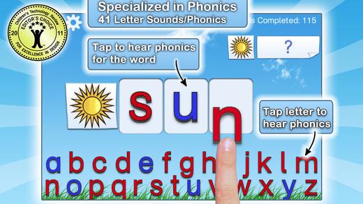 montessori crosswords app screen shot