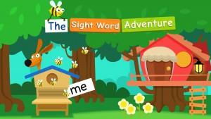 the sight word adventure