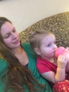 Cuddling with Ophelia