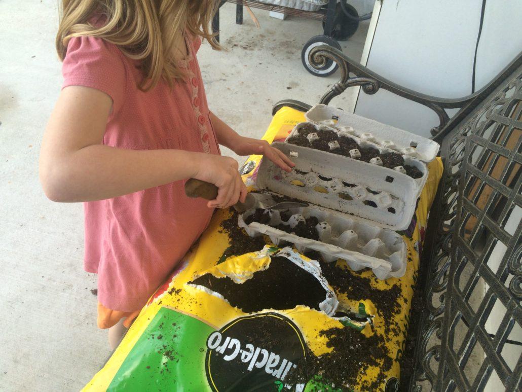 Ruby Planting Seeds Embracing Motherhood