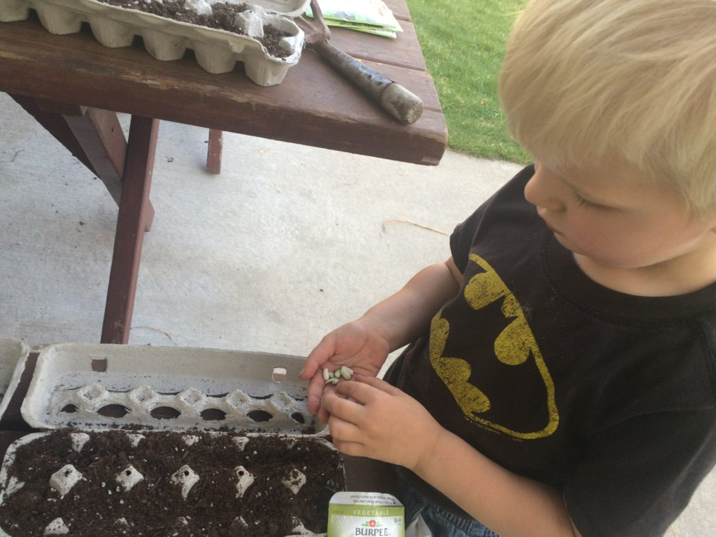 Elliot Planting Seeds Embracing Motherhood