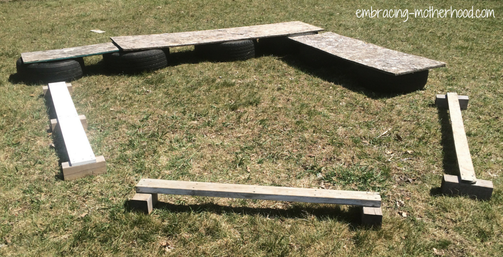 How to Make a Backyard Obstacle Course Embracing Motherhood