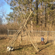 Embracing Motherhood How to Make an Outdoor Teepee