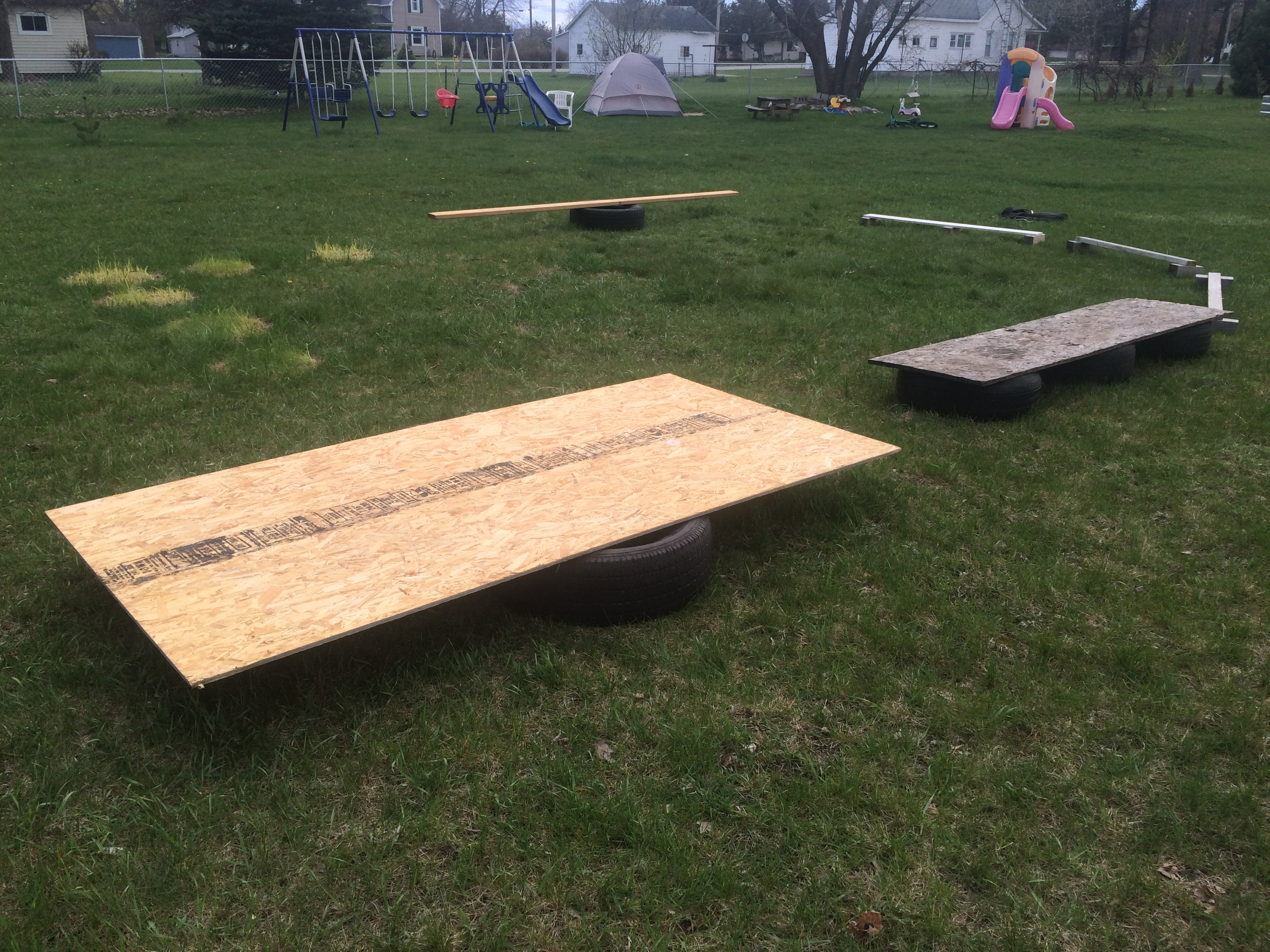 How to Make a Backyard Obstacle Course | Embracing Motherhood