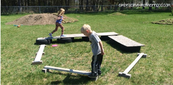Embracing Motherhood How to Make a Backyard Obstacle Course