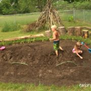 Embracing Motherhood How to Make a Mudpit for Summer Fun