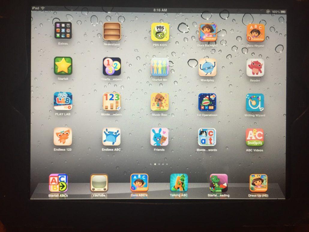 Our Favorite Preschool Apps