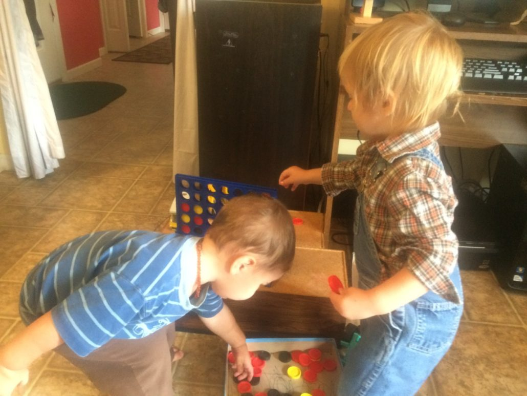 Counting with Connect 4