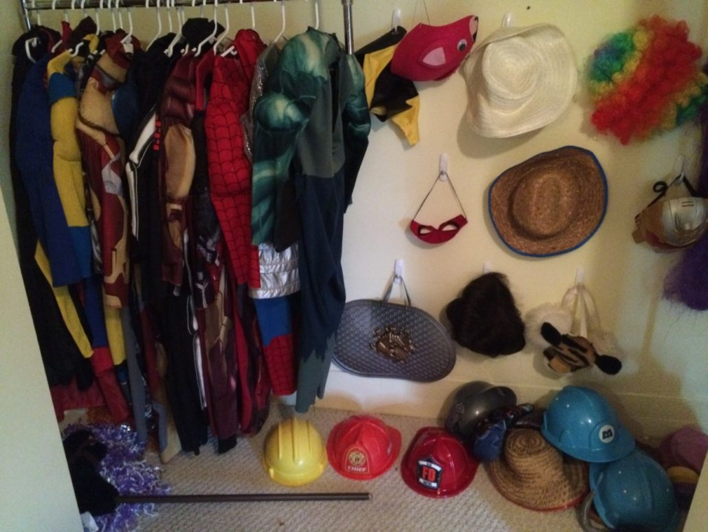 Dress Up Clothes and Hats