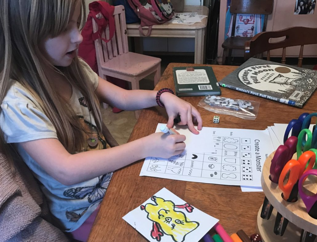 Ruby (7) Playing the Create a Monster Game