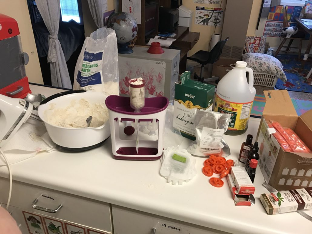 My Toothpaste Making Station
