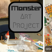 monster art project