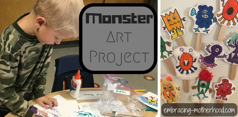 monster art project