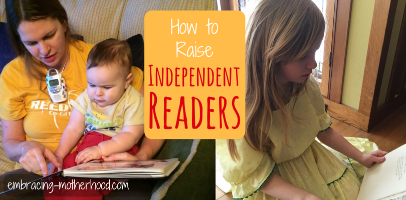 Encouraging Children to Read Independently