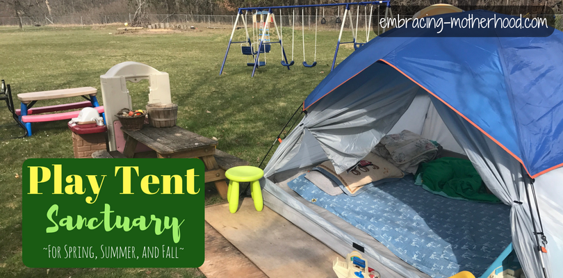 Our Backyard Tent