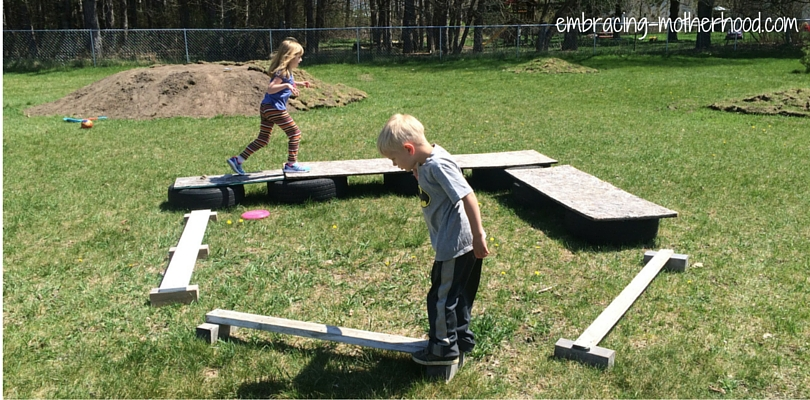 Our Backyard Obstacle Course